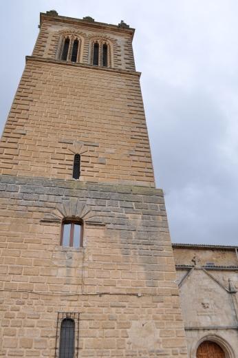 Torre renacentista de la iglesia de San Nicolás de Bari.