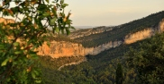 Vistas del Estrecho de Priego desde el convento.