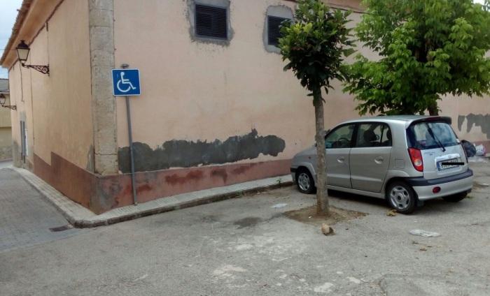 plaza discapacitados