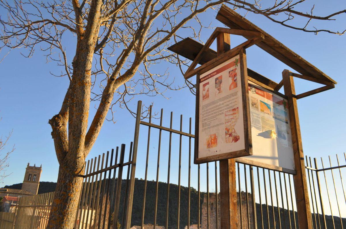 El Ayuntamiento pretende renovar los paneles turísticos con las ayudas contra la despoblación