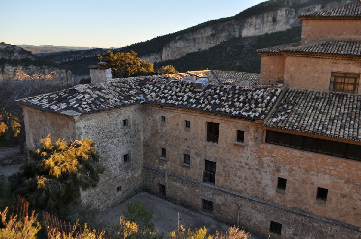Comienzan las obras para renovar el tejado del Convento de San Miguel de la Victoria
