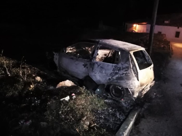 coche incendio