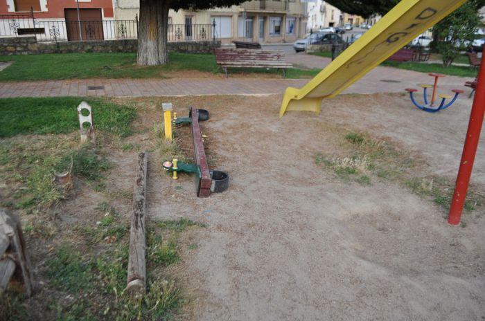 parque vandalismo