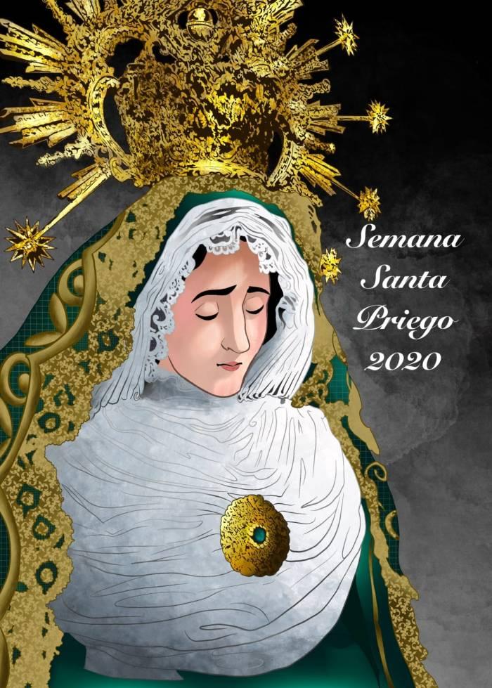 cartel semana santa virgen