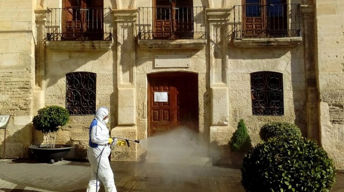 coronavirus desinfeccion ayuntamiento